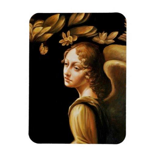 Ángel en oro imanes