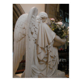 Ángel en Saint Andrews Tarjeta Postal
