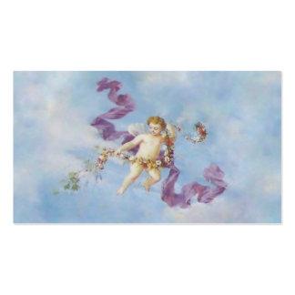 Ángel en tarjeta de visita del ~ del cielo I
