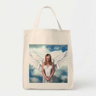 Ángel entre las nubes bolsa tela para la compra