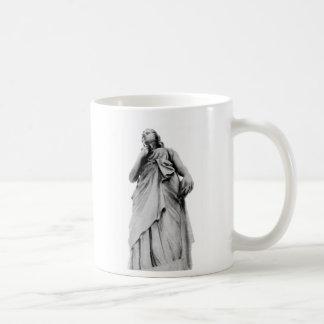 Ángel erudito taza de café