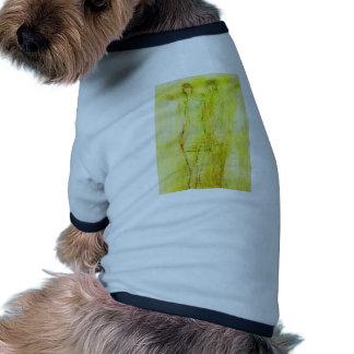 ángel etéreo (23) camiseta con mangas para perro