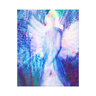 Angel Ethereal Wrapped Canvas