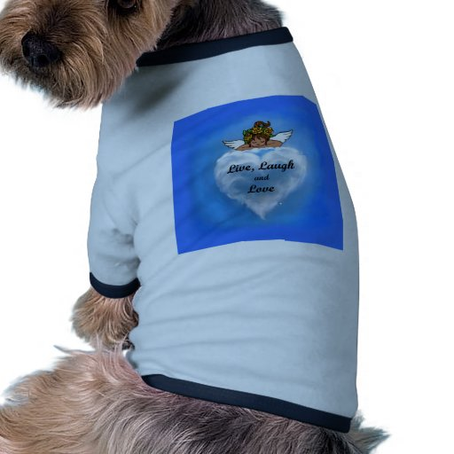 Ángel étnico vivo camisetas de mascota