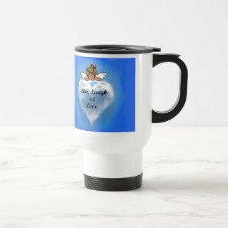 Ángel étnico vivo tazas de café
