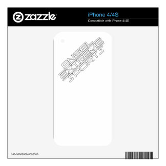 Angel Extreme Sports - AXS - brand - 1 iPhone 4 Skins
