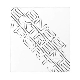 Angel Extreme Sports - AXS - brand - 1 Notepad