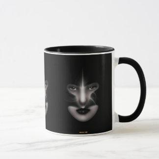 Angel Eyes Custom Printed Ringer Mug