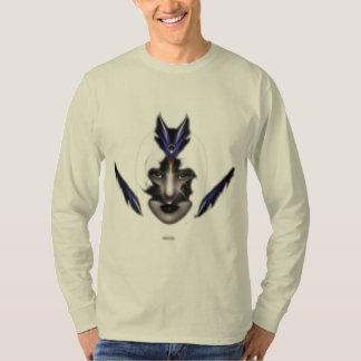 Angel Eyes Wings Of Wind ISO Fractal Art T-shirt