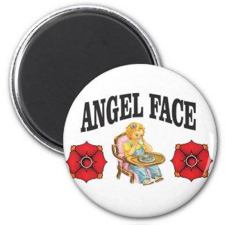 angel face child magnet