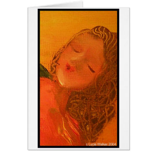 Angel Face Greeting Cards