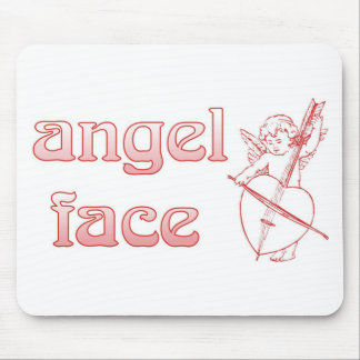 Angel face mouse pad