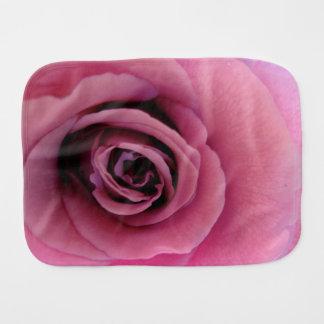 Angel Face Rose Burp Cloth. Burp Cloth