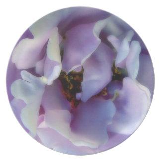 Angel Face Rose Melamine Plate