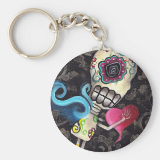 Angel Fairy Skeleton Day of the Dead Keychain