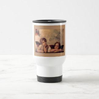 Angel Faith Raphael Faith Blessing Cute Travel Mug