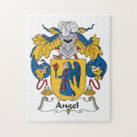 Angel Family Crest Jigsaw Puzzle