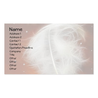 Angel Feather 2 Double-Sided Standard Business Cards (Pack Of 100)