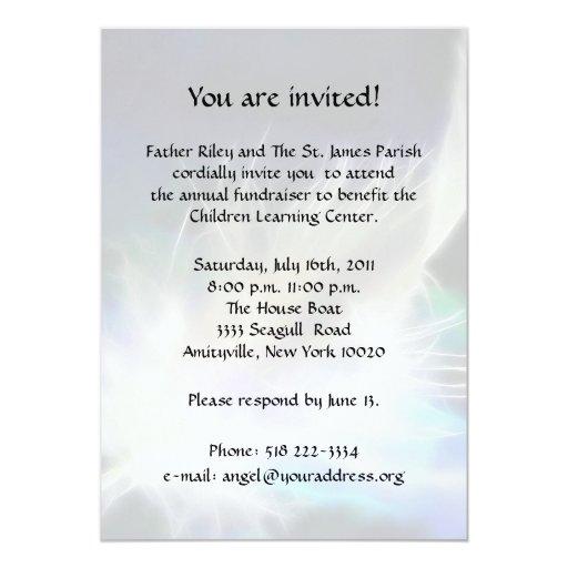 1 000 Fundraiser Invitations Fundraiser Announcements
