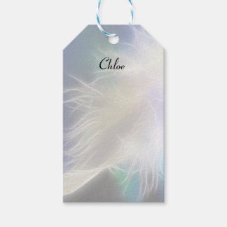 Angel Feather Gift Tags