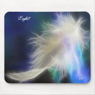 Angel Feather! Mouse Pad
