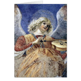 Angel Fine Art Renaissance Christmas Card