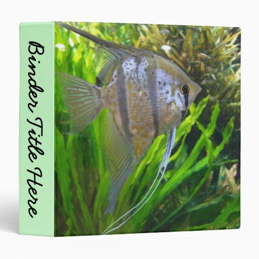 "Angel Fish 1.5"" Binder"