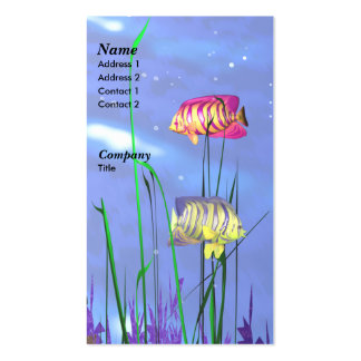 Angel Fish - Business Business Card