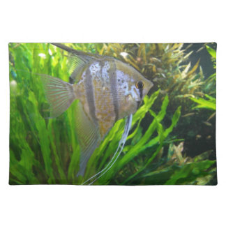 Angel Fish Cloth Placemat