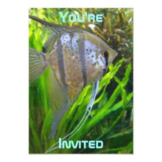 Angel Fish Invitation