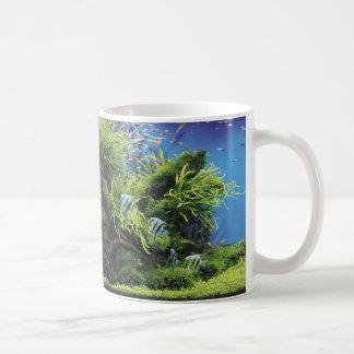 Angel fish of fresh water coffee mug