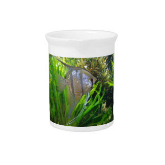 Angel Fish Drink Pitcher
