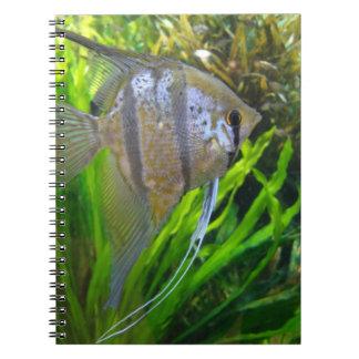 Angel Fish Spiral Notebook