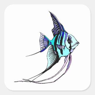 Angel Fish Stickers
