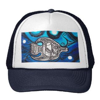 angel fish trucker hat