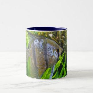 Angel Fish Two-Tone Coffee Mug