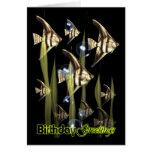 Angel Fish Wish - Birthday Greetings Cards