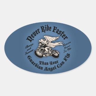 Angel Flight II Oval Sticker