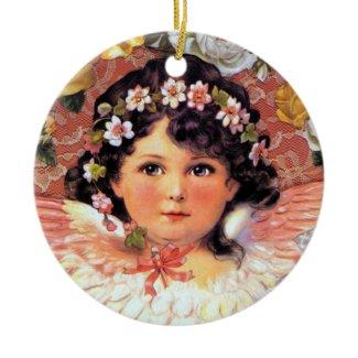 Angel Flower Girl Ornament ornament