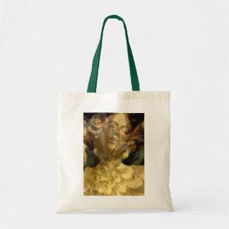 Angel Flower Tote Bag
