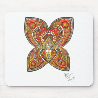 Angel Fly Mouse Pad