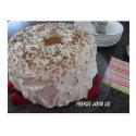 Angel Food Cake Invitation Postcard