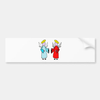 Angel for Christmas Bumper Stickers