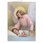 Angel for the child card