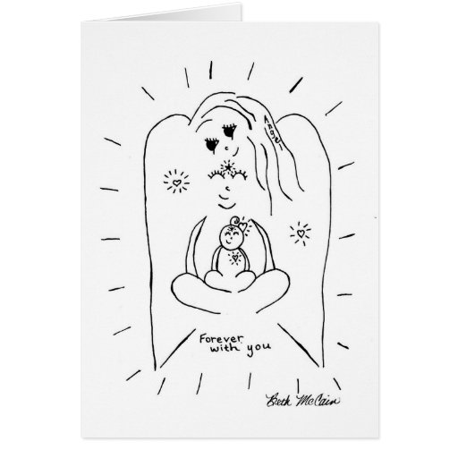 Angel 'Forever with You' Card