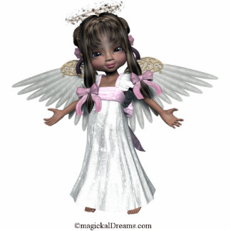ángel fotoescultura vertical