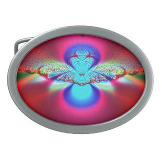 Angel Fractal Belt Buckle