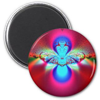 Angel Fractal Fridge Magnets