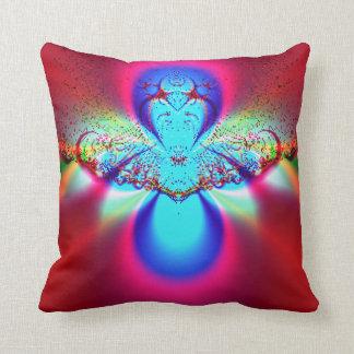 Angel Fractal Throw Pillow
