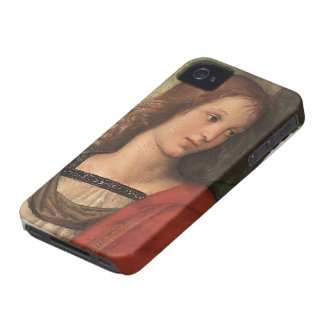 Angel (fragment of Baronci altarpiece) by Raphael iPhone 4 Case-Mate Cases